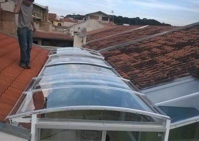 COBERTURA DE POLICARBONATO CURITIBA